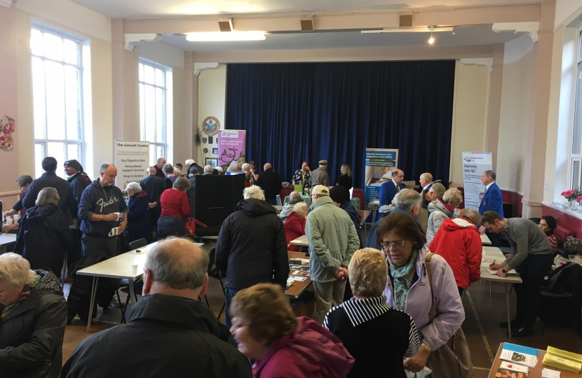 Pensioners' fair at Longton Methodist Central Hall