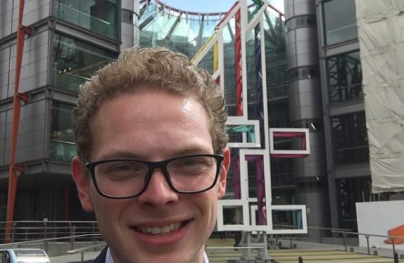 Jack outside Channel 4