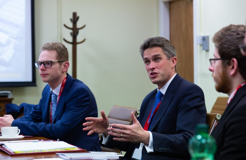 Jack Brereton MP and Gavin Williamson MP at Goodwin International - 3