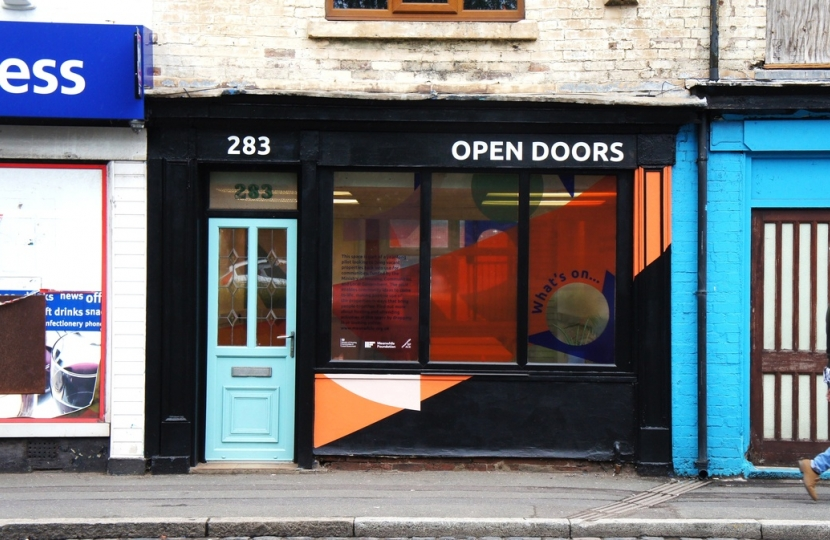 Open Doors space, City Road