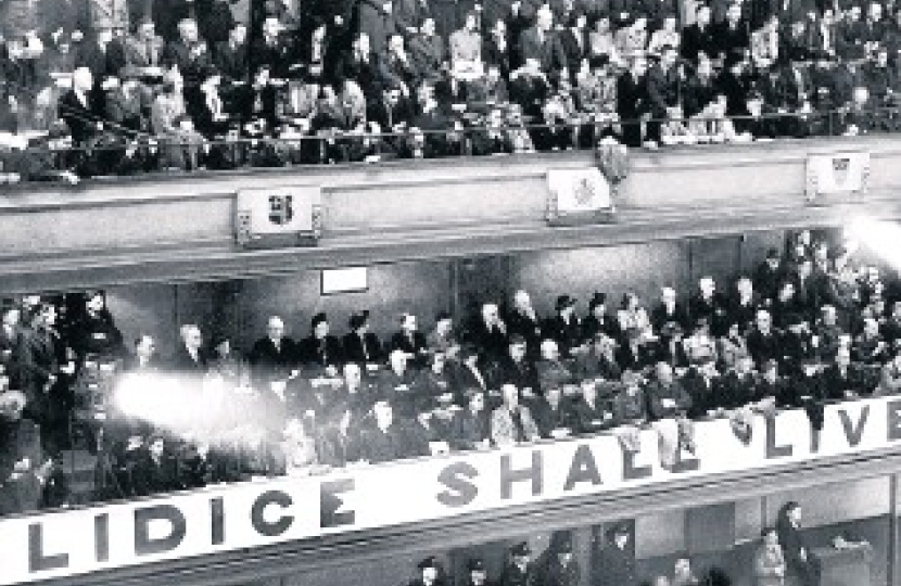 Lidice Shall Live rally, Stoke-on-Trent