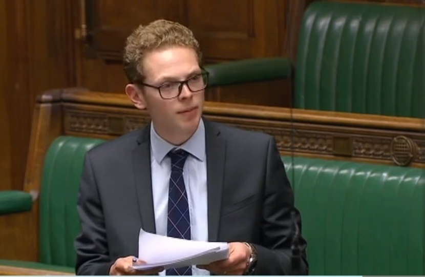 Jack Brereton in House of Commons